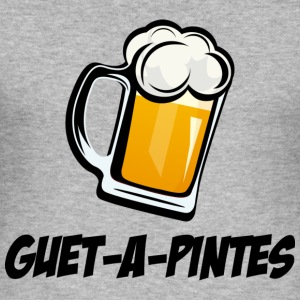 pints to watch - Men's Slim Fit T-Shirt