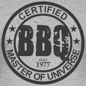 Certified BBQ Master 1977 Grillmeister - Men's Slim Fit T-Shirt