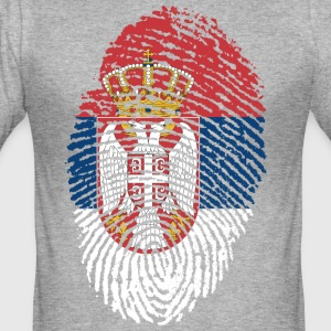SERBIA 4 EVER COLLECTION - Slim Fit T-skjorte for menn