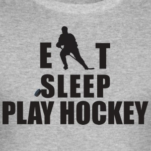 Hockey Eat Sleep Play Hockey - Men's Slim Fit T-Shirt
