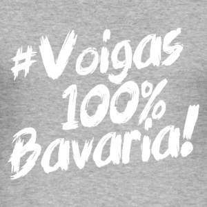 #Voigas - 100 % Bavaria - Männer Slim Fit T-Shirt