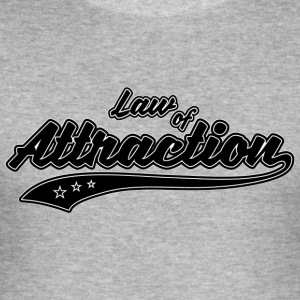 Law of Attraction - Slim Fit T-shirt herr