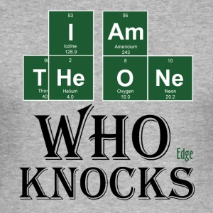 The_one_who_Knocks_Blc - Camiseta ajustada hombre
