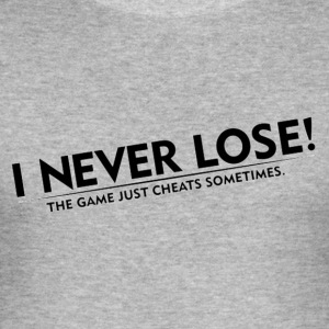 Never Lose - Men's Slim Fit T-Shirt