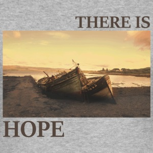 There_is_hope_natural_colour - Männer Slim Fit T-Shirt