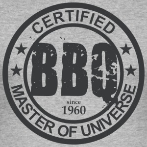 Certified BBQ Master 1960 Grillmeister - Men's Slim Fit T-Shirt