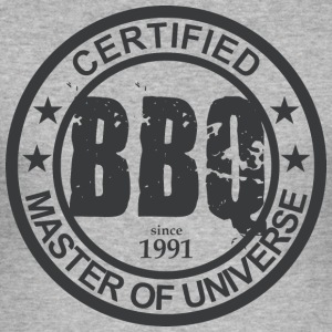 Certified BBQ Master 1991 Grillmeister - Men's Slim Fit T-Shirt