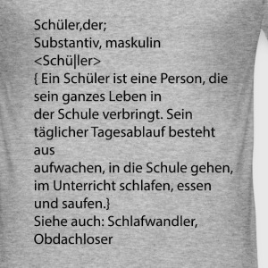definition leerlingen - slim fit T-shirt
