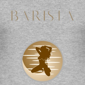 Barista - Herre Slim Fit T-Shirt