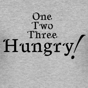 hungry! - Men's Slim Fit T-Shirt