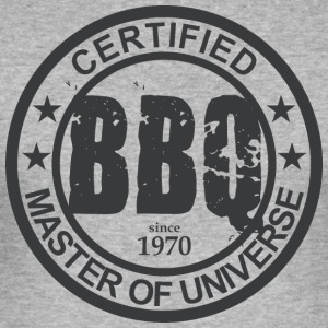 Certified BBQ Master 1970 Grillmeister - Men's Slim Fit T-Shirt