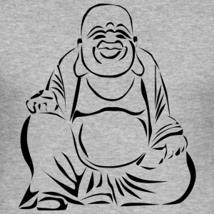 Happy Buddha - Men's Slim Fit T-Shirt