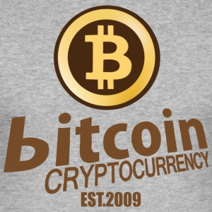 Bitcoin Crypto Valuta - Herre Slim Fit T-Shirt