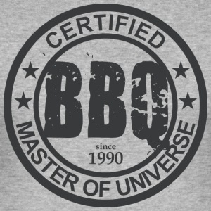 Certified BBQ Master 1990 Grillmeister - Men's Slim Fit T-Shirt