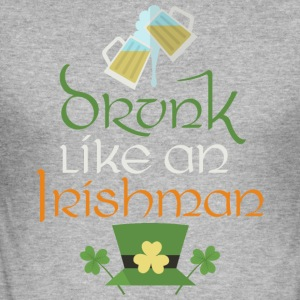lahe StPatricks Ire - Männer Slim Fit T-Shirt
