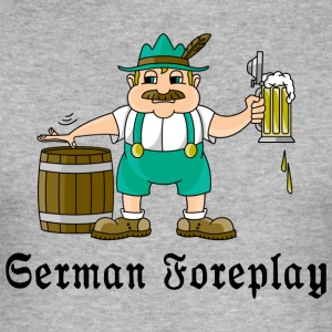 German Foreplay - Men's Slim Fit T-Shirt