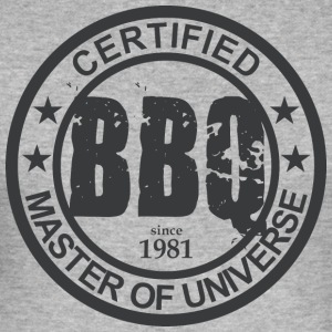 Certified BBQ Master 1981 Grillmeister - Men's Slim Fit T-Shirt