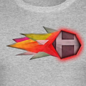 Abstract H LETTER - slim fit T-shirt