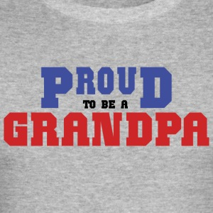 Proud To Be A Grandpa - Men's Slim Fit T-Shirt