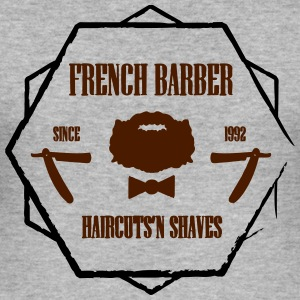 FRENCH BARBER - Tee shirt près du corps Homme