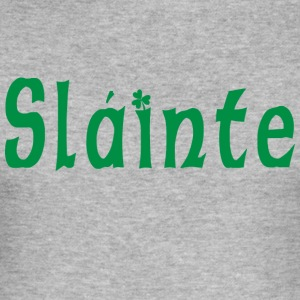 Irish Slainte - Men's Slim Fit T-Shirt