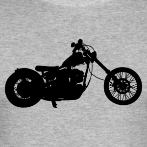 Bike · LogoArt - Men's Slim Fit T-Shirt