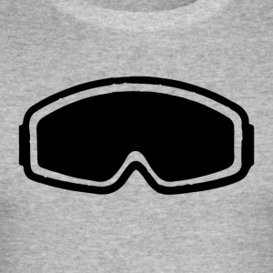 snowboard goggles - Men's Slim Fit T-Shirt