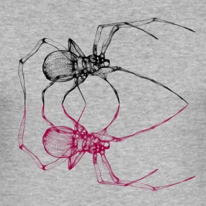 black_widow - Herre Slim Fit T-Shirt