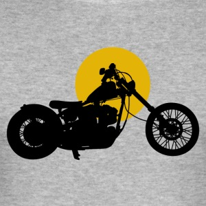 Bike · LogoArt - Herre Slim Fit T-Shirt