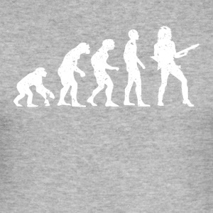 EVOLUTION GUITARIST! - Herre Slim Fit T-Shirt