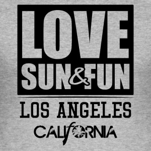 Love, Sun & Fun · Los Angeles · Kalifornien - Slim Fit T-shirt herr