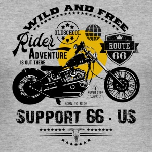Rider · Support 66 - Herre Slim Fit T-Shirt