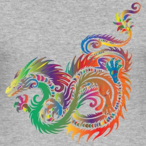 colorful dragon - Men's Slim Fit T-Shirt