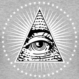 Illuminati Eye of Providence - Men's Slim Fit T-Shirt