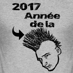 2017 Year of the ridge! - Men's Slim Fit T-Shirt