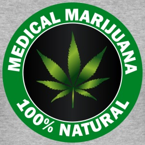 marihuana - Slim Fit T-skjorte for menn