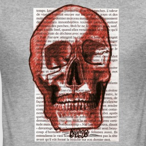 CRANE RED FACE - Herre Slim Fit T-Shirt