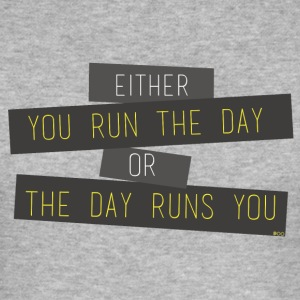 Run the day - Men's Slim Fit T-Shirt