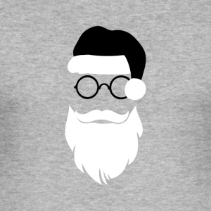 hipster Kerstman - slim fit T-shirt