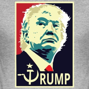 Pres Trump - Slim Fit T-shirt herr