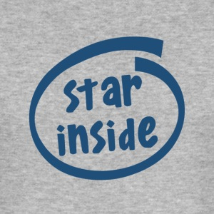 star inside (1801C) - Men's Slim Fit T-Shirt