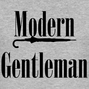 MODERN GENTLEMAN - Slim Fit T-shirt herr