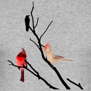bird branch - Men's Slim Fit T-Shirt
