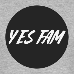 Yes Fam Street Snapback - Men's Slim Fit T-Shirt