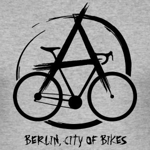 Bikeanarchy1 - Männer Slim Fit T-Shirt