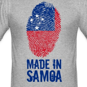 Made in Samoa - Men's Slim Fit T-Shirt