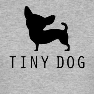Tiny Dog - Slim Fit T-skjorte for menn
