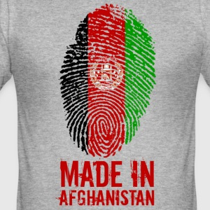 Made in Afghanistan / Gemacht in Afghanistan - Männer Slim Fit T-Shirt