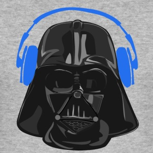 Vader headset blauw - slim fit T-shirt