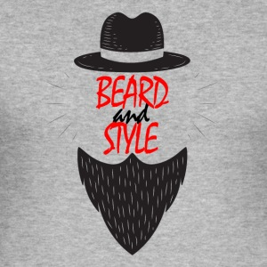 Beard and style - Men's Slim Fit T-Shirt